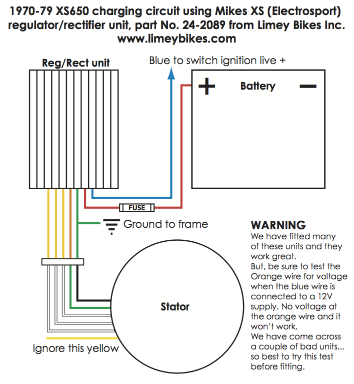 Kawasaki Voltage Regulator Rectifier Wiring Diagram
